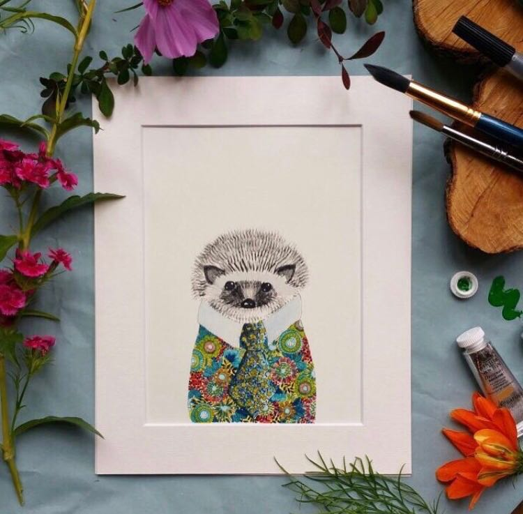 Animal art, Horace the hedgehog