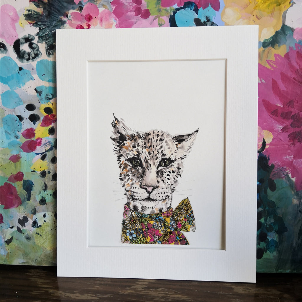 Animal Art, Nadia leopard
