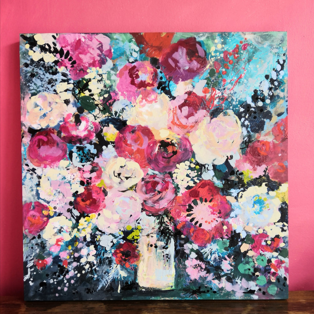 Abstract Floral 'Studio blooms'