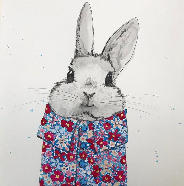 Animal art, May the Bunny