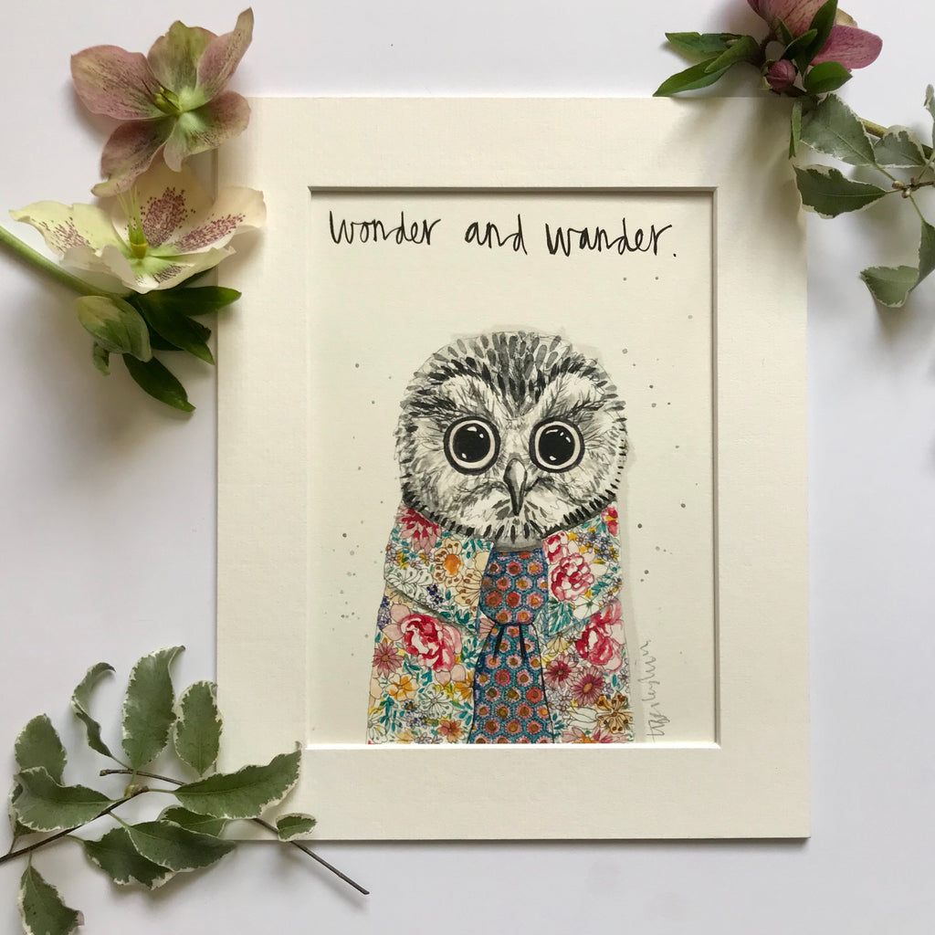 Animal art, Oscar the owl