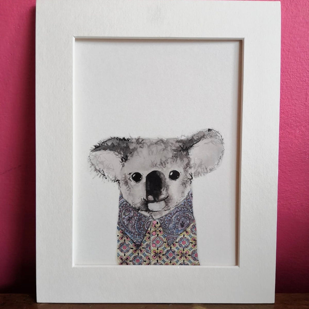 Animal art, Nathan the koala