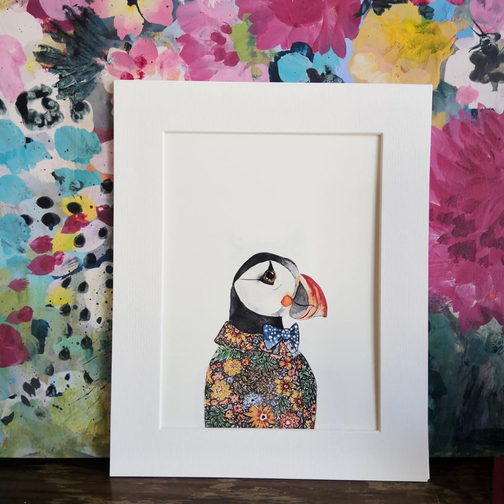 Animal art, Grayson Puffin