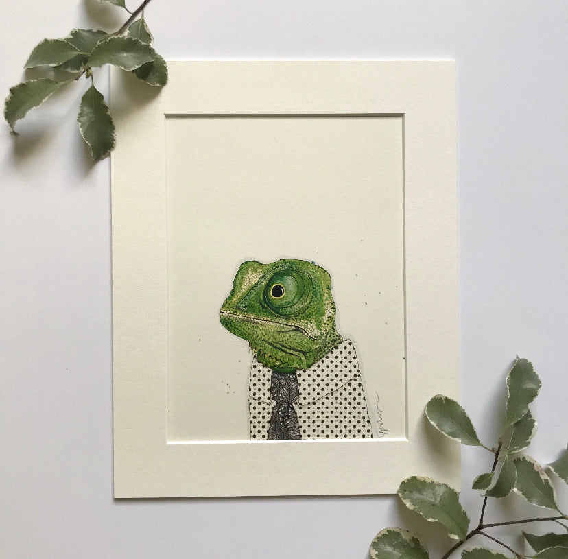 Animal art, Gareth the chameleon
