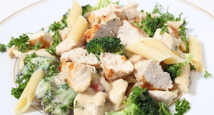 Pasta con Pollo e Broccoli