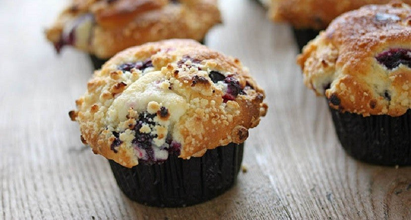 Ricetta Light - Muffin al Mirtillo & Banana