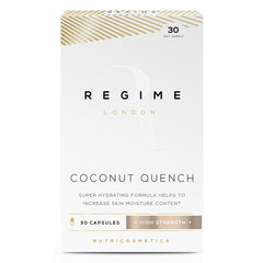 Regime London Coconut Quench - Integratore Idratante Pelle 30 Capsule