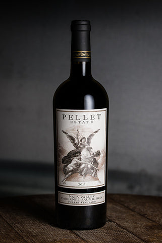 2011 Pellet Estate Cabernet Sauvignon, Pellet Vineyard