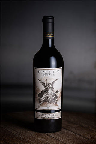 2017 Pellet Estate Henry's Reserve, Pellet Vineyard - $1 Shipping