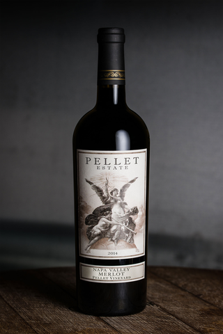 2015 Pellet Estate Merlot, Pellet Vineyard