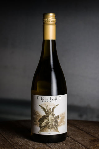 2014 Pellet Estate Un-Oaked Chardonnay, Sunchase Vineyard