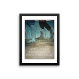 Mark Twain Adventures of Huckleberry Finn framed print