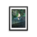 Rudyard Kipling Jungle Book framed print