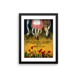 L Frank Baum Wizard of Oz framed print