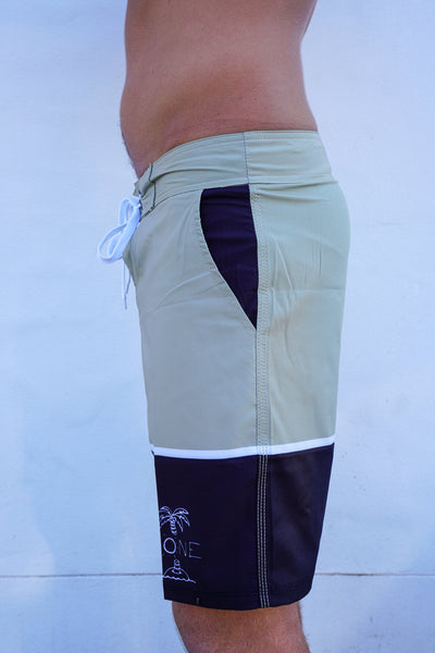 TWO TONE BOARD SHORTS