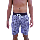 ZEBRA BOARD SHORTS