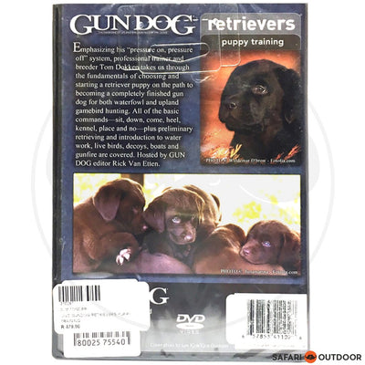 GUNDOG RETRIEVERS PUPPY TRAINING (DVD)