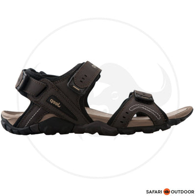 JEEP SANDLE MEN PERU -DARK BROWN