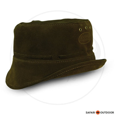 ROGUE FLOPPY HAT SUEDE CHOCOLATE