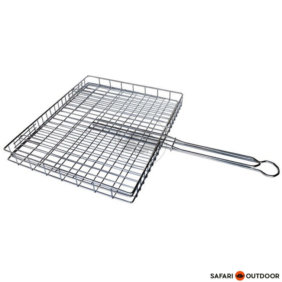 LK BRAAI GRID BIG BOX ADJUSTABLE S/STEEL - SAFARI OUTDOOR