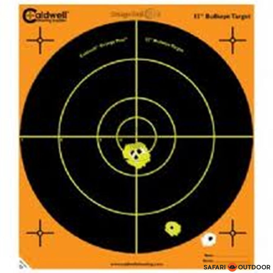 CALDWELL ORANGE PEEL BULLSEYE 12 INCH - SAFARI OUTDOOR
