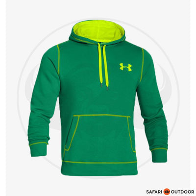 UNDER ARMOUR HOODIE MEN RIVAL -NORI GREEN
