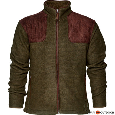 SEELAND JACKET WILLIAM II FLEECE MEN OLIVE