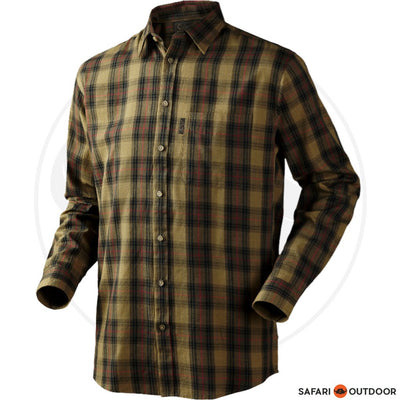 SEELAND LONG SLEEVE SHIRT PILTON MEN -GREEN