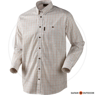 SEELAND LONG SLEEVE SHIRT NIGEL MEN -BARN