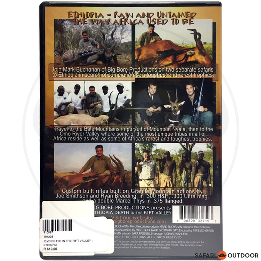 Ethiopia Death in the Rift Valley (DVD)