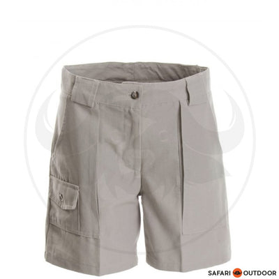 RUGGEDWEAR LADIES KESTREL SHORT -STONE