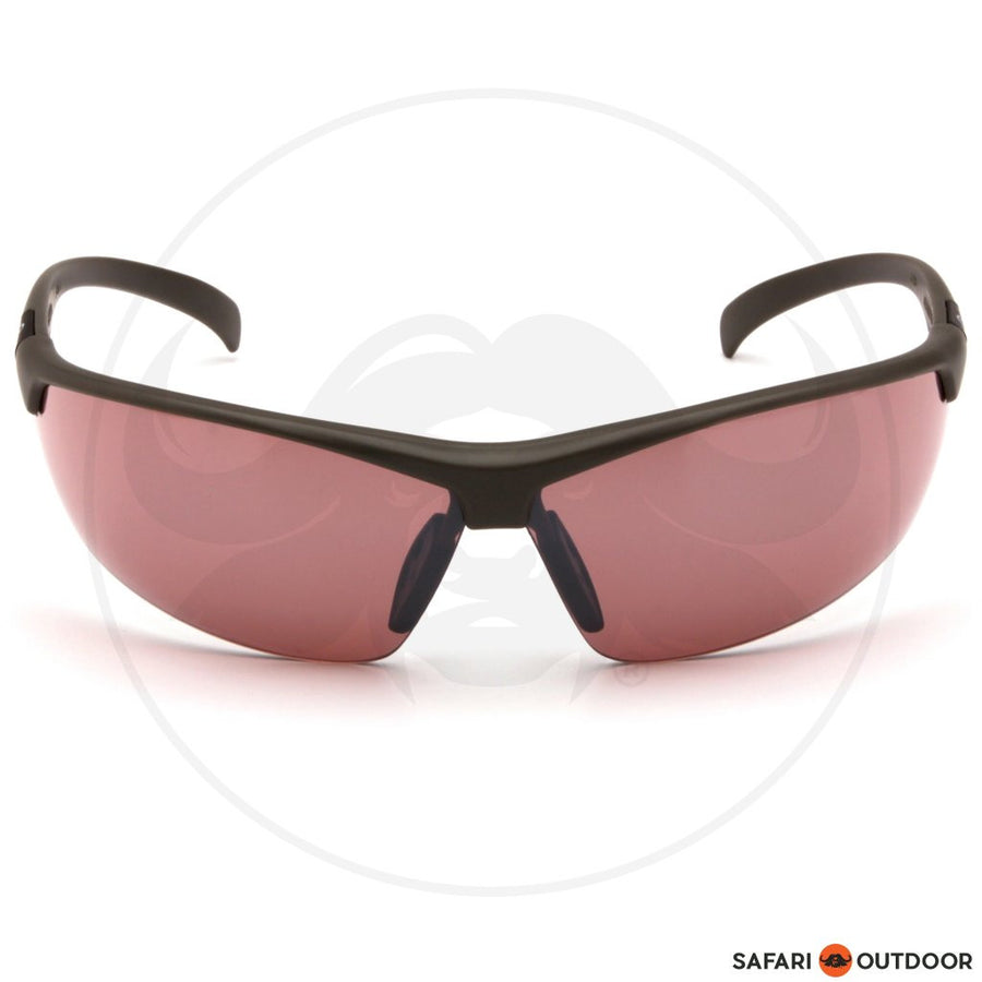 GLASSES DUCKS UNLIMITED BLACK FRAME/VERMILLION LENS - SAFARI OUTDOOR