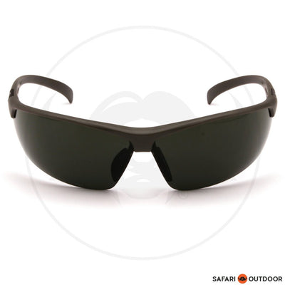 GLASSES DUCKS UNLIMITED BLACK FRAME/SMOKE GREEN LENS - SAFARI OUTDOOR
