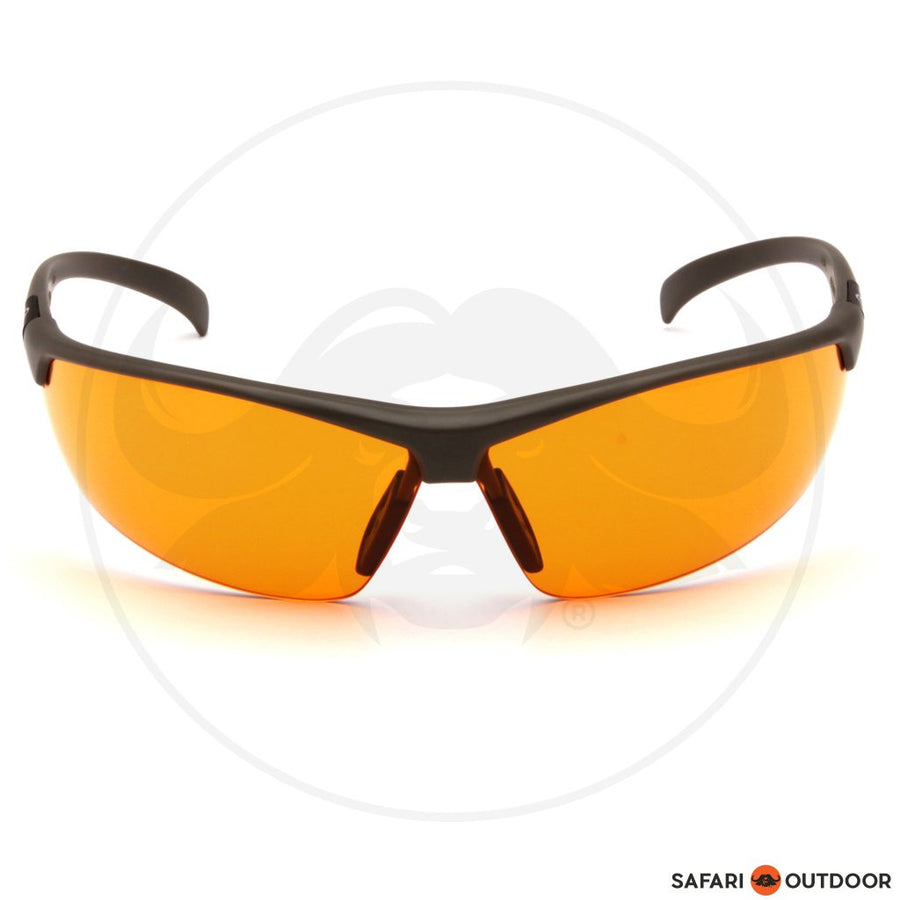 GLASSES DUCKS UNLIMITED BLACK FRAME/ORANGE LENS - SAFARI OUTDOOR