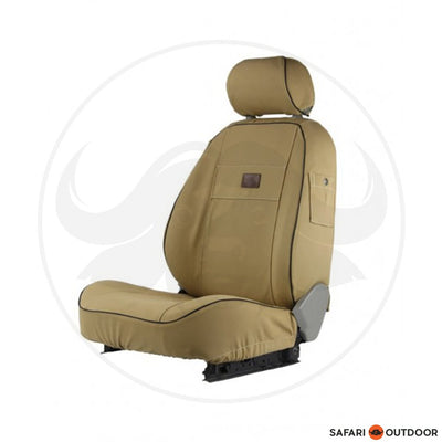 MELVILL & MOON  ISUZU D/CAB LE 2013 FRONTS ONLY SAND SEAT
