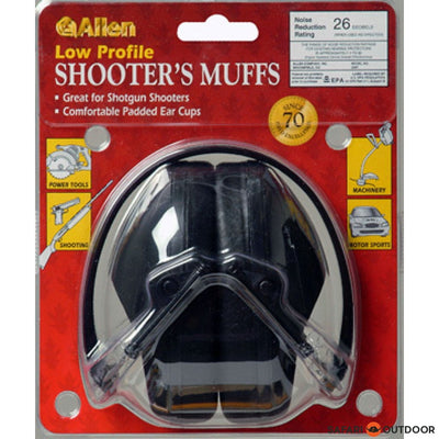 ALLEN MUFFS LOW PROFILE - SAFARI OUTDOOR