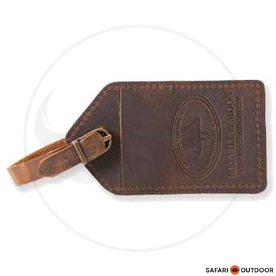 Melvill & Moon Luggage Tag - Leather