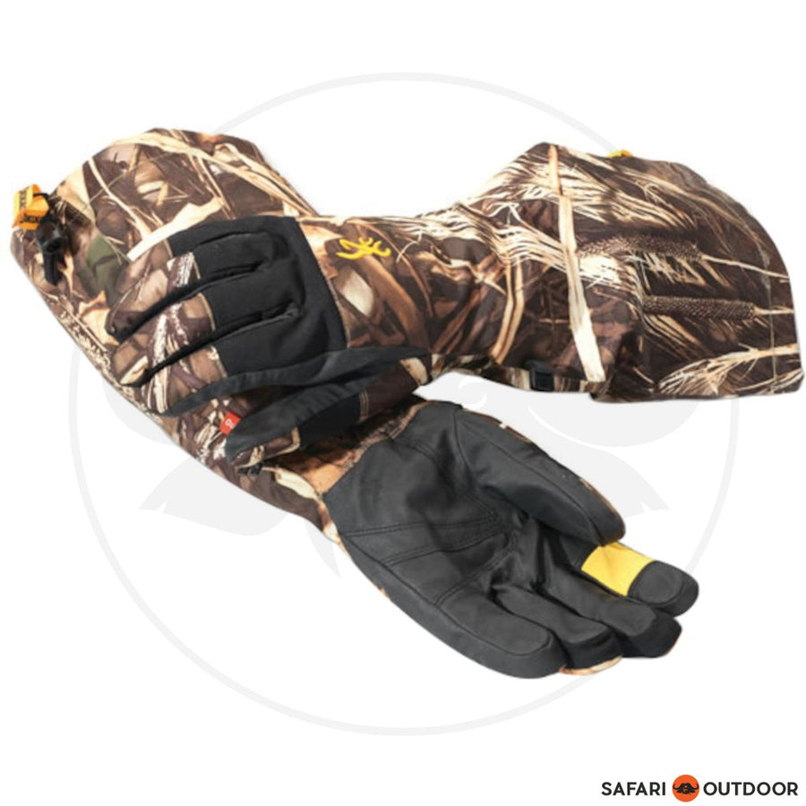 BROWNING GLOVE DIRTY BIRD REALTREE MAX 4 - SAFARI OUTDOOR