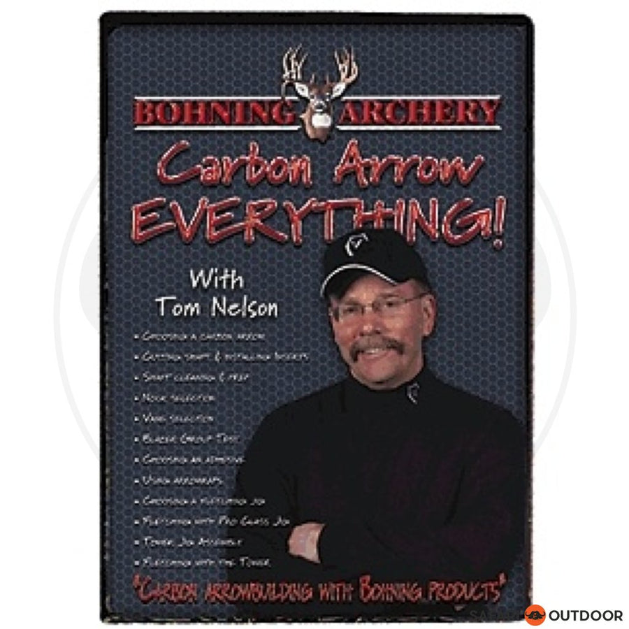 BOHNING ARCHERY CARBON ARROW EVERYTHING (DVD)