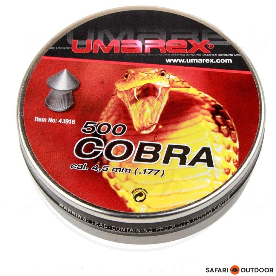 PELLET UMAREX COBRA POINTED 4.5MM 8.6GR (500)