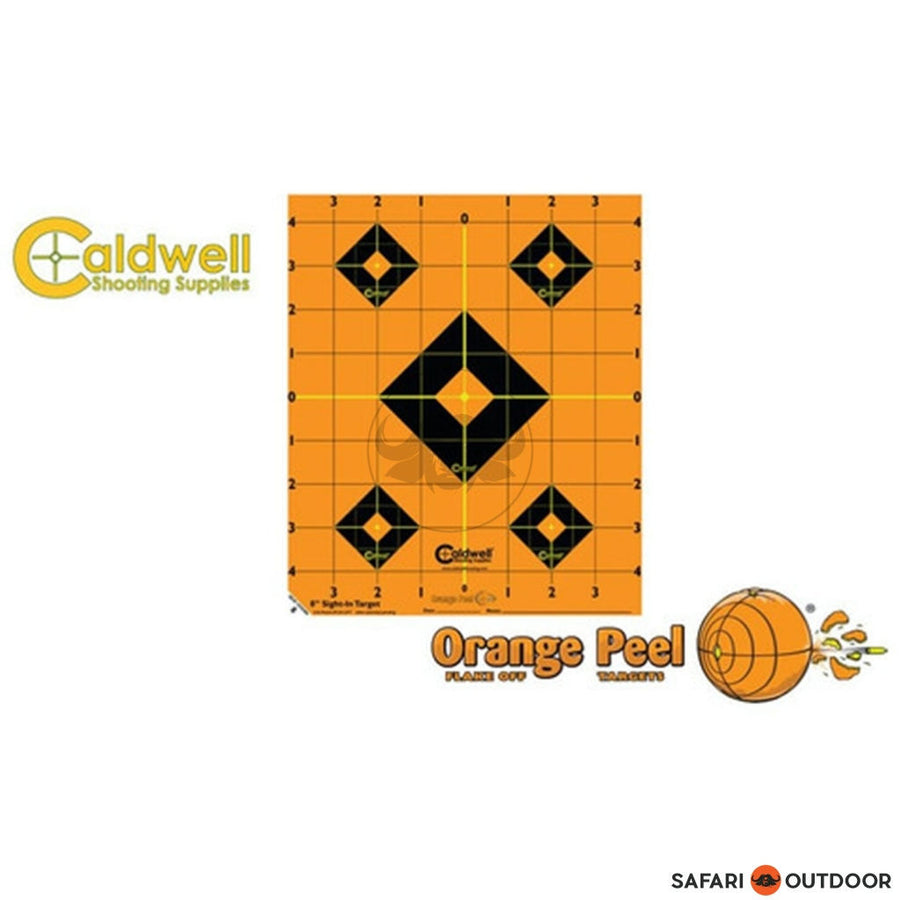 "CALDWELL ORANGE PEEL SIGHT IN TARGET 8"" - SAFARI OUTDOOR"