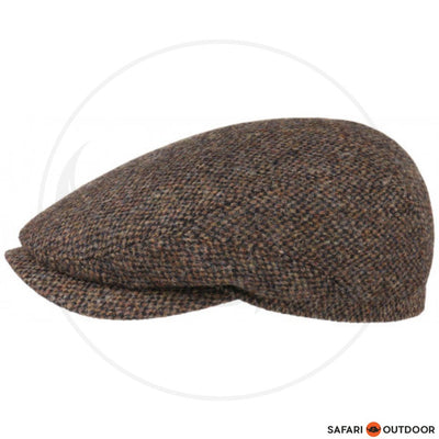 STETSON CAP DRIVER HARRIS -TWEED