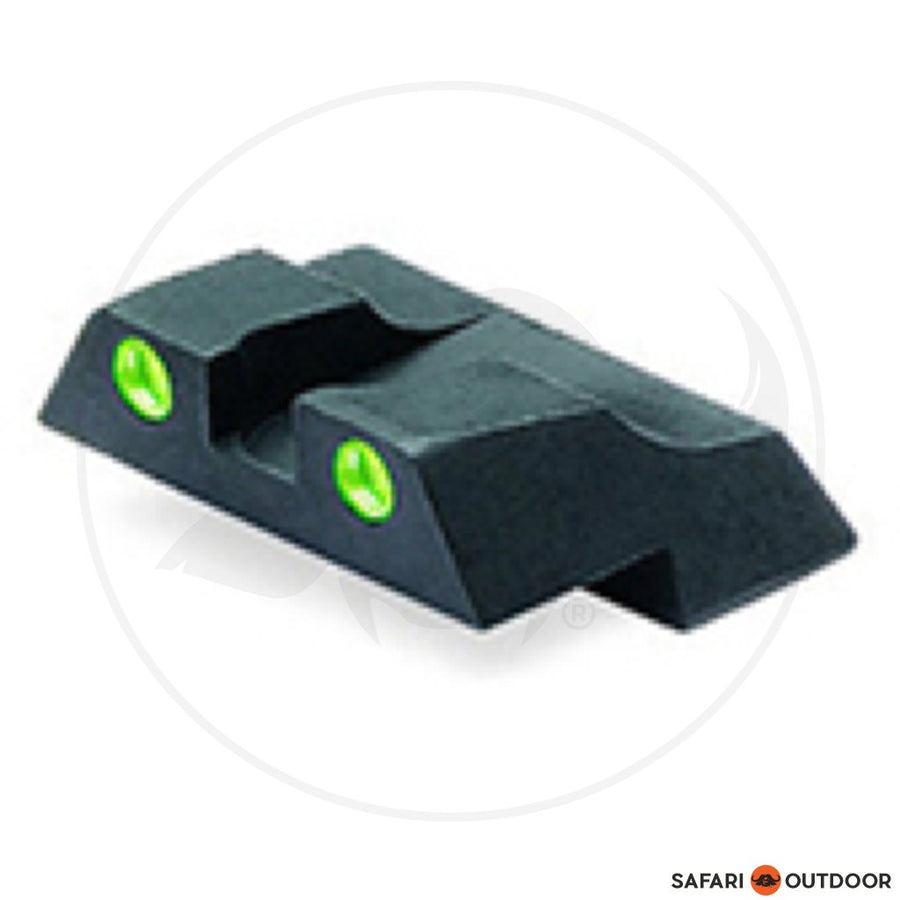 GLOCK SIGHT REAR NIGHT 6.5MM STEEL SELF LUM GREEN