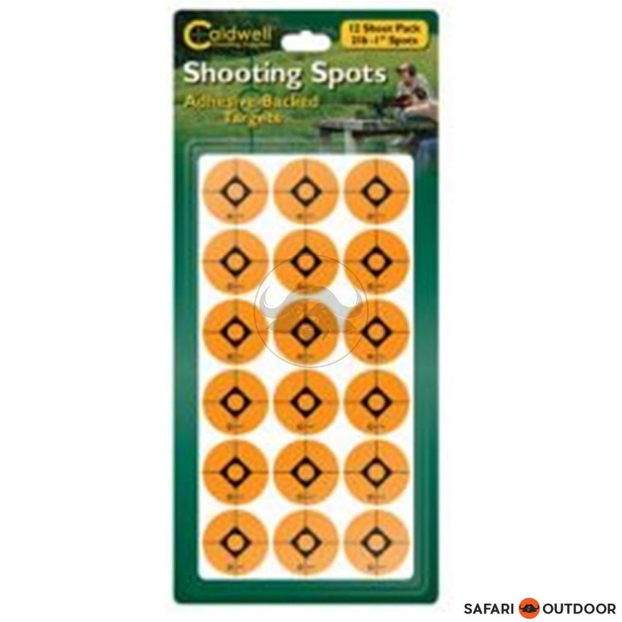 CALDWELL SHOOTING SPOTS - ORANGE 2 INCH - SAFARI OUTDOOR