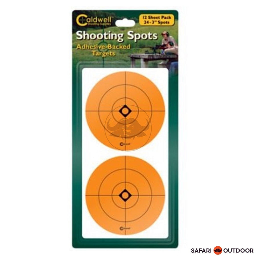 CALDWELL SHOOTING SPOTS - ORANGE 1 INCH - SAFARI OUTDOOR