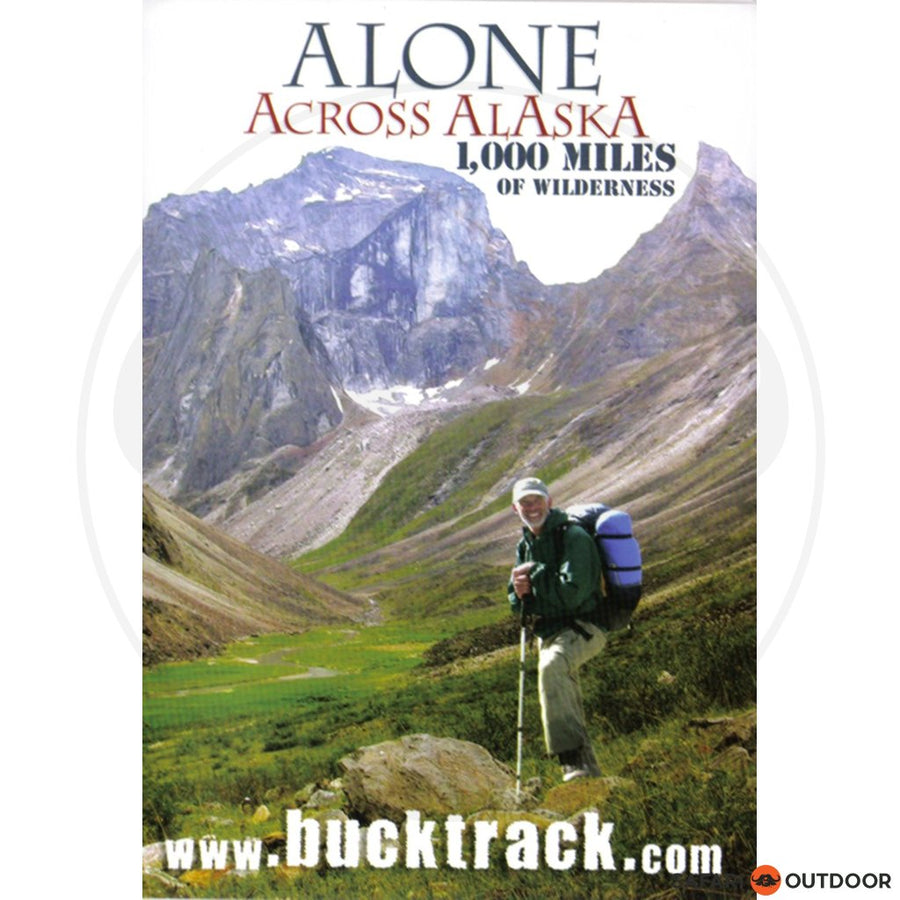 ALONE ACROSS ALASKA - 1 000 MILES (DVD)