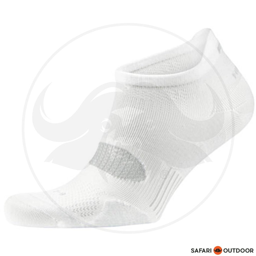 FALKE SILVER CUSH HIDDEN SOCKS -WHITE