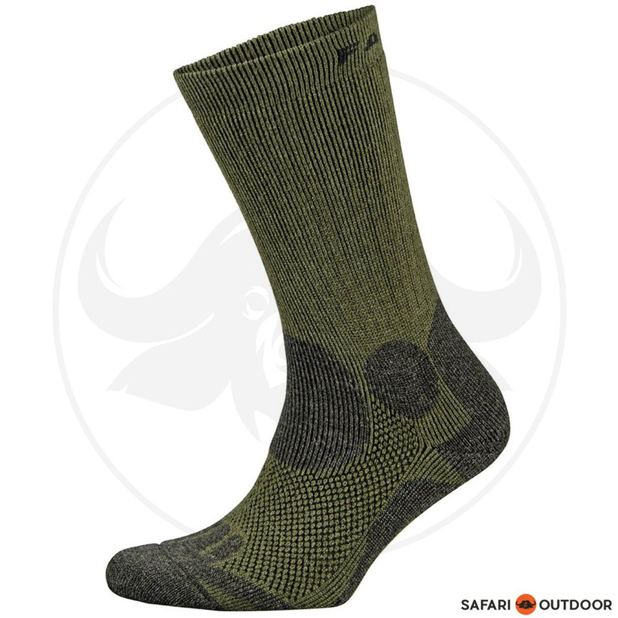 FALKE SOCKS MENS LEFT & RIGHT HIKER -OLIVE