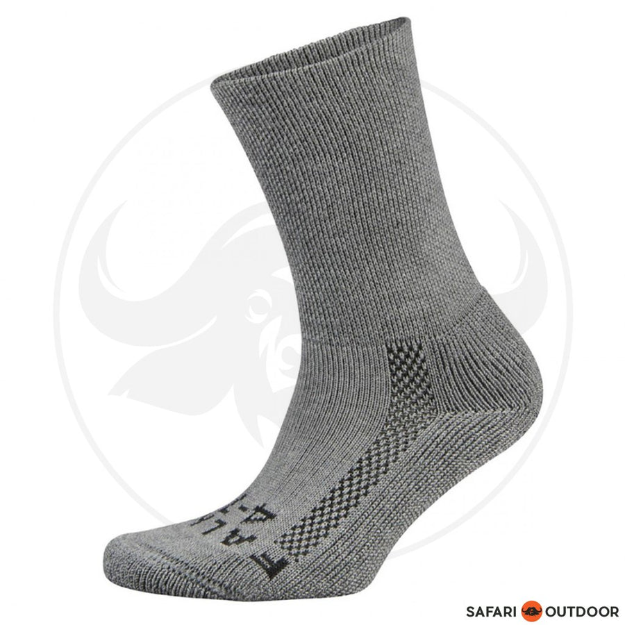 FALKE SOCKS MENS WALKIE HIKING WOOL -DARK GREY