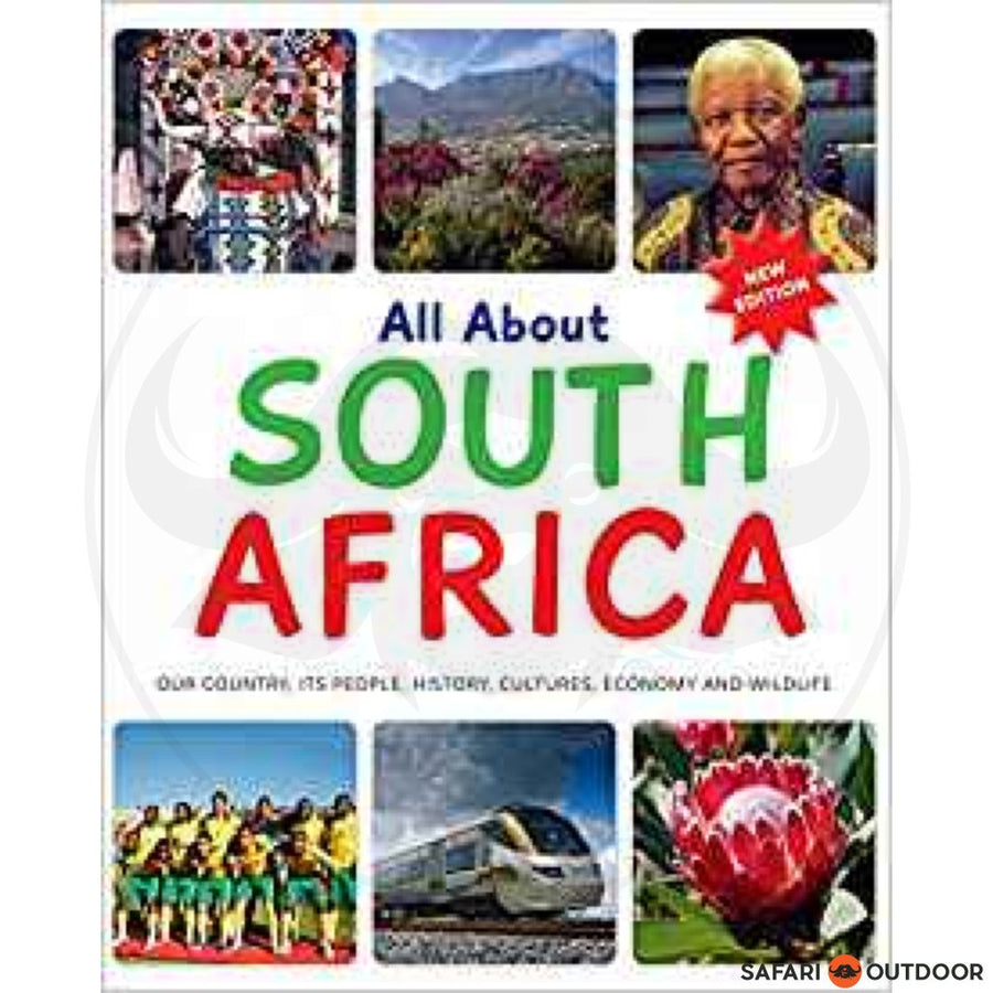 ALL ABOUT SOUTH-AFRICA (NEW EDITION) (BOOK)
